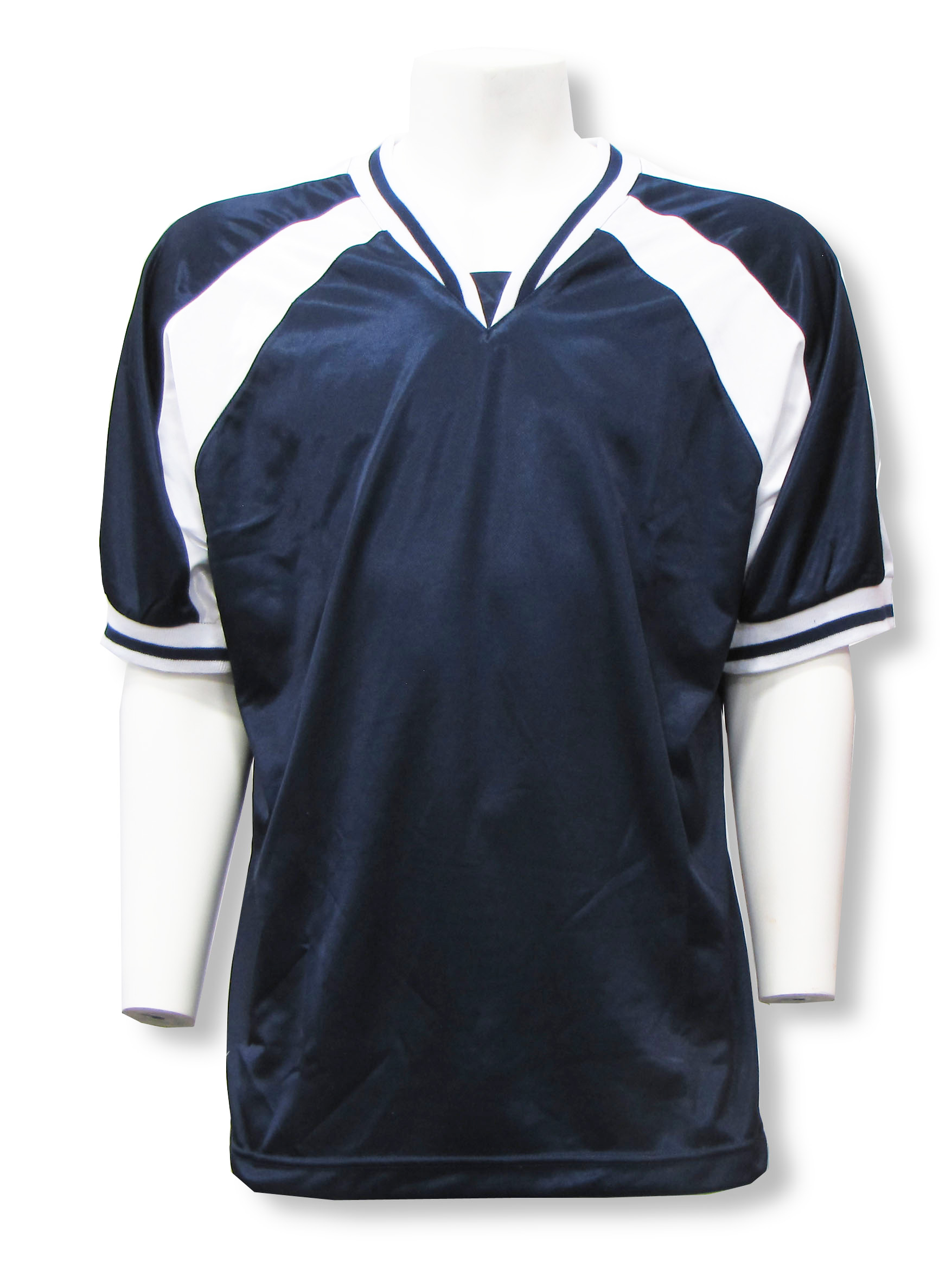Spitfire soccer jersey in navy/white by Code Four Athletics