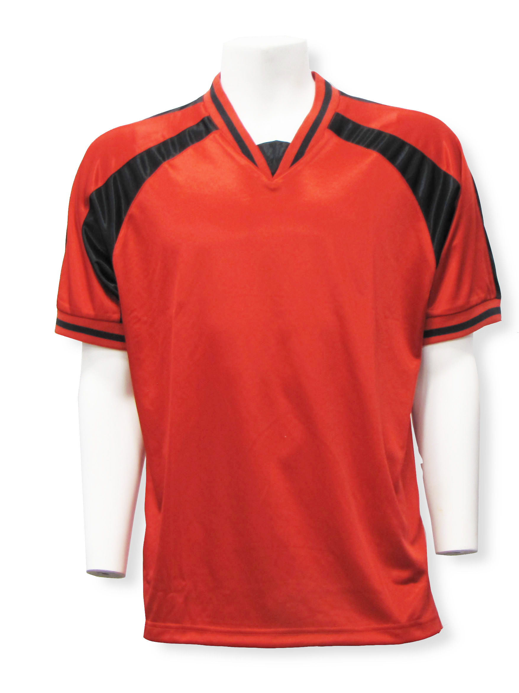 Spitfire soccer jersey in red/black by Code Four Athletics