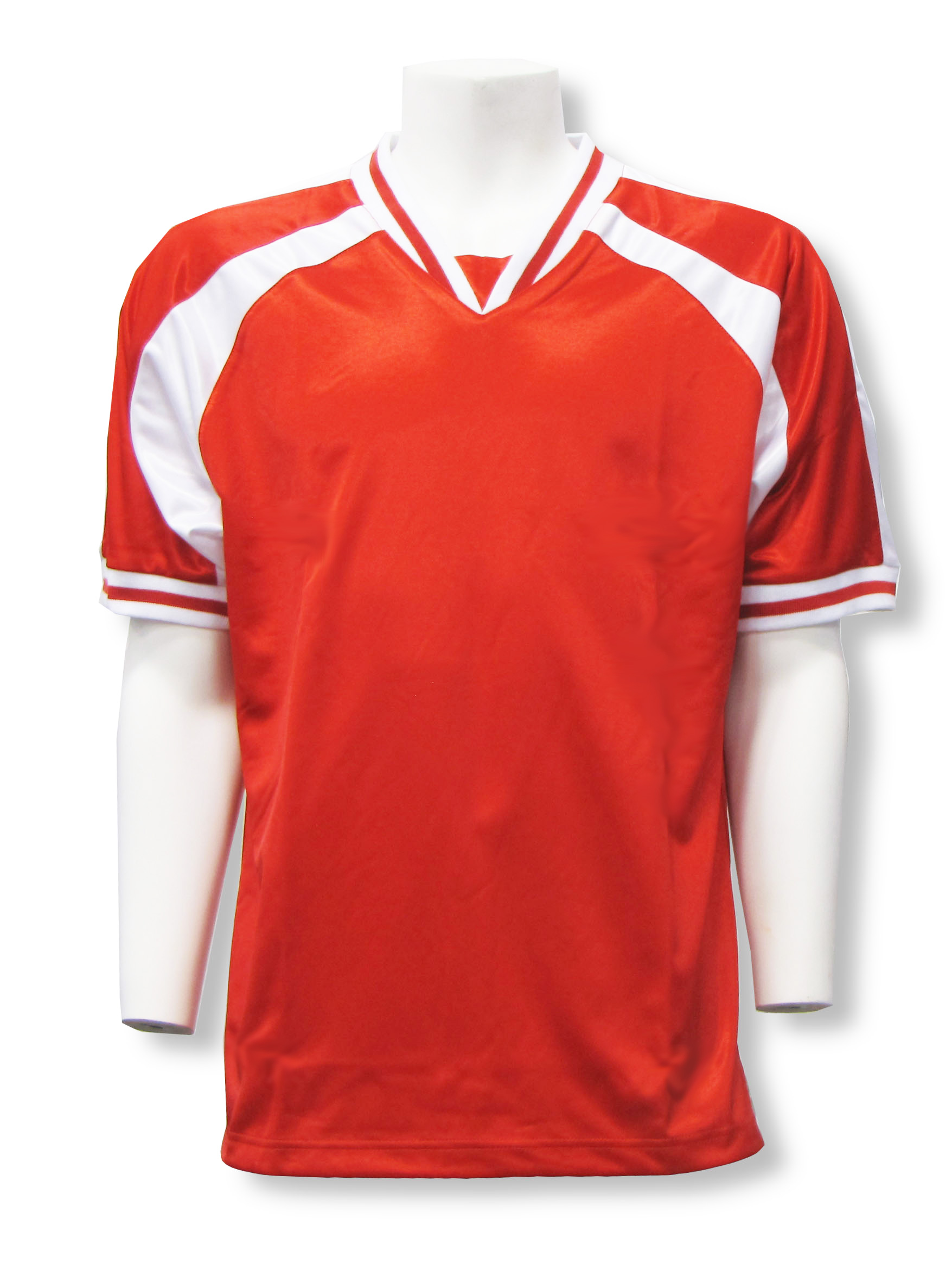 Spitfire soccer jersey in red/white by Code Four Athletics