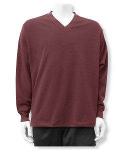 Swofford C4 pullover warmup jacket in maroon by Code Four Athletics