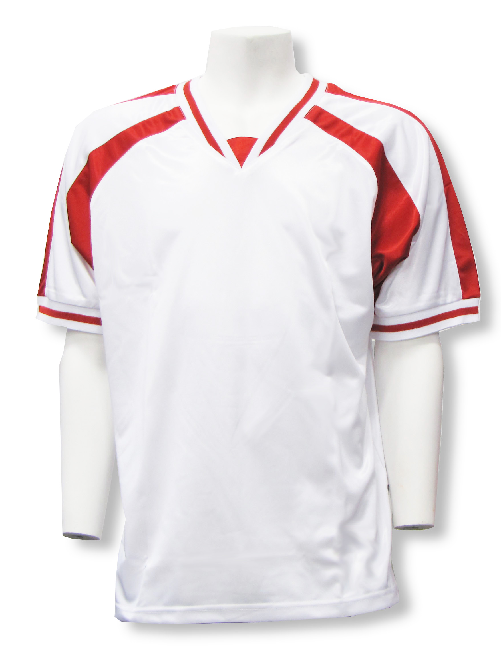 Spitfire soccer jersey in white/red by Code Four Athletics